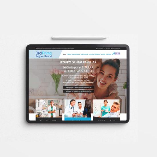 Oral Prima desarrollo web